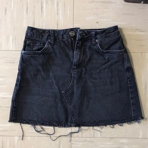 Urban Outfitters Black Jean Skirt